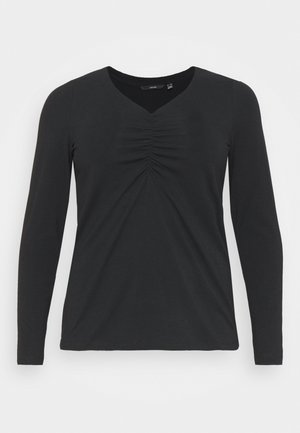 VMBROLING  - Long sleeved top - black