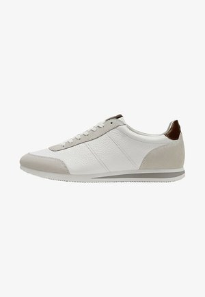 MIT DETAIL AN DER SOHLE - Sneakers laag - white