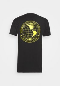Vans - VANS X NATIONAL GEOGRAPHIC GLOBE - T-shirt z nadrukiem - black - 1