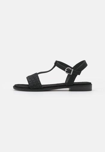 MOA T-STRAP - Sandalen - black