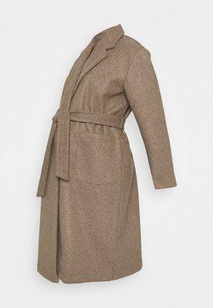 OLMTRILLION LONG BELT COATIGAN  - Classic coat - brown