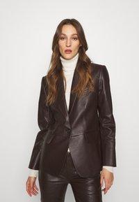 Lauren Ralph Lauren - BONARO - Blazer - chocolate - 0