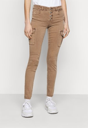 ONLMARYA PINARA LIFE PANT - Cargo trousers - toasted coconut