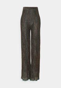 M Missoni - Trousers - black/bronze - 0