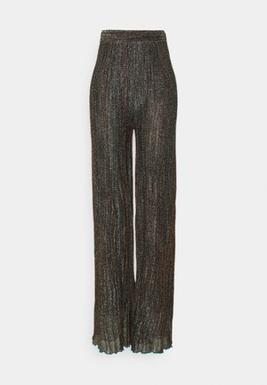 Trousers - black/bronze
