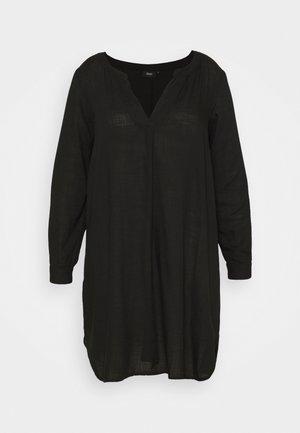 KNEE DRESS - Vapaa-ajan mekko - black