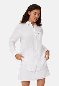 Lexington - Button-down blouse - white - 0