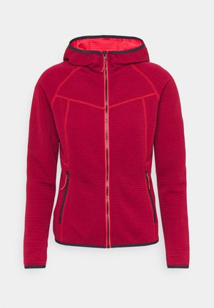 BERRYVILLE - Fleece jacket - cranberry