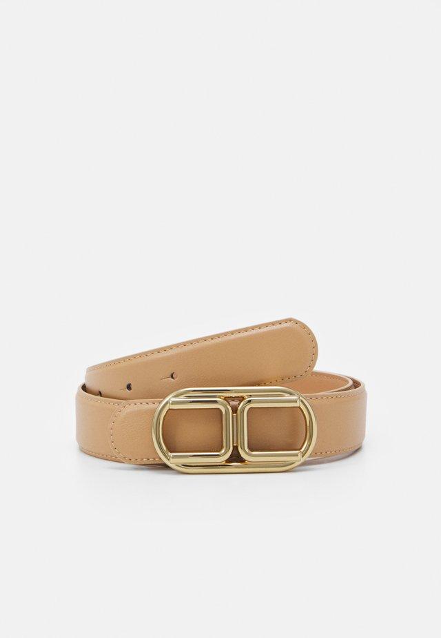 LOGO BELT - Belt - cammello