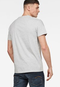 G-Star - GRAPHIC - Print T-shirt - grey - 1