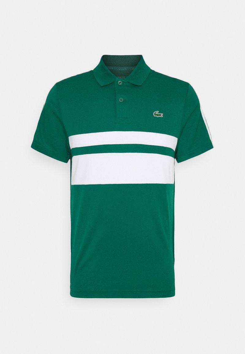 Lacoste Sport - TENNIS - Sportshirt - bottle green/white