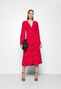 Ghost - CORA DRESS - Vestito estivo - red - 1
