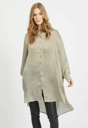 Button-down blouse - ivy green