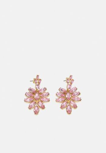 PCLEEZA EARRINGS - Earrings - gold-coloured/rose