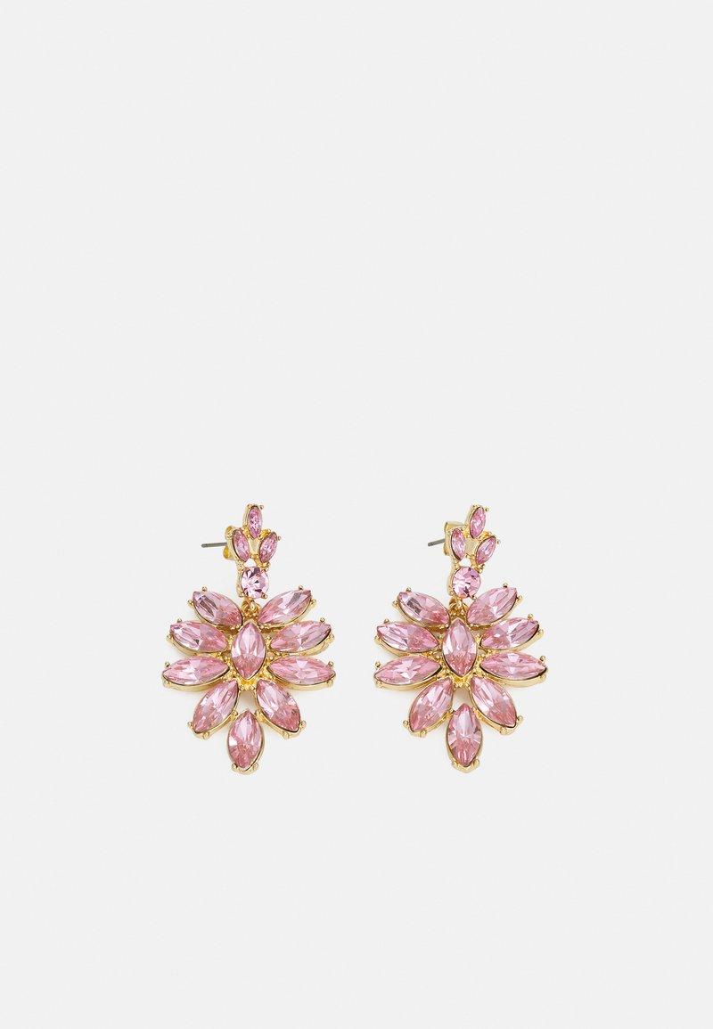 Pieces - PCLEEZA EARRINGS - Earrings - gold-coloured/rose