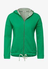 Cecil - Zip-up hoodie - grün - 3