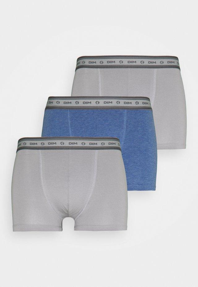 BIO BOXER 3 PACK - Boxerky - grey/blue