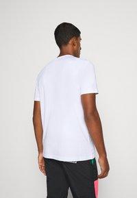 Iceberg - T-shirt con stampa - bianco ottico - 2