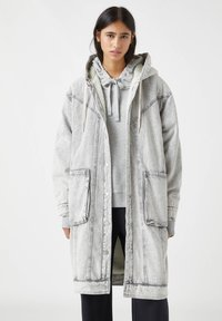PULL&BEAR - Winter coat - mottled grey - 0