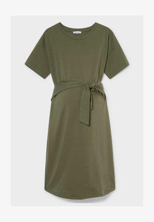 Jersey dress - dark green