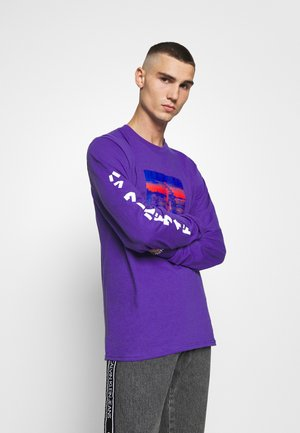 GODZILLA WATER TEE - Long sleeved top - purple