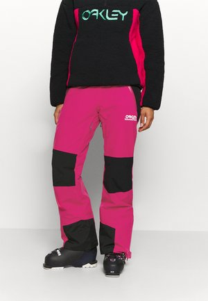 WOMENS INSULATED - Snow pants - rubine red