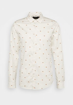 ALL OVER PRINTED SHIRT - Skjorta - offwhite/multicoloured
