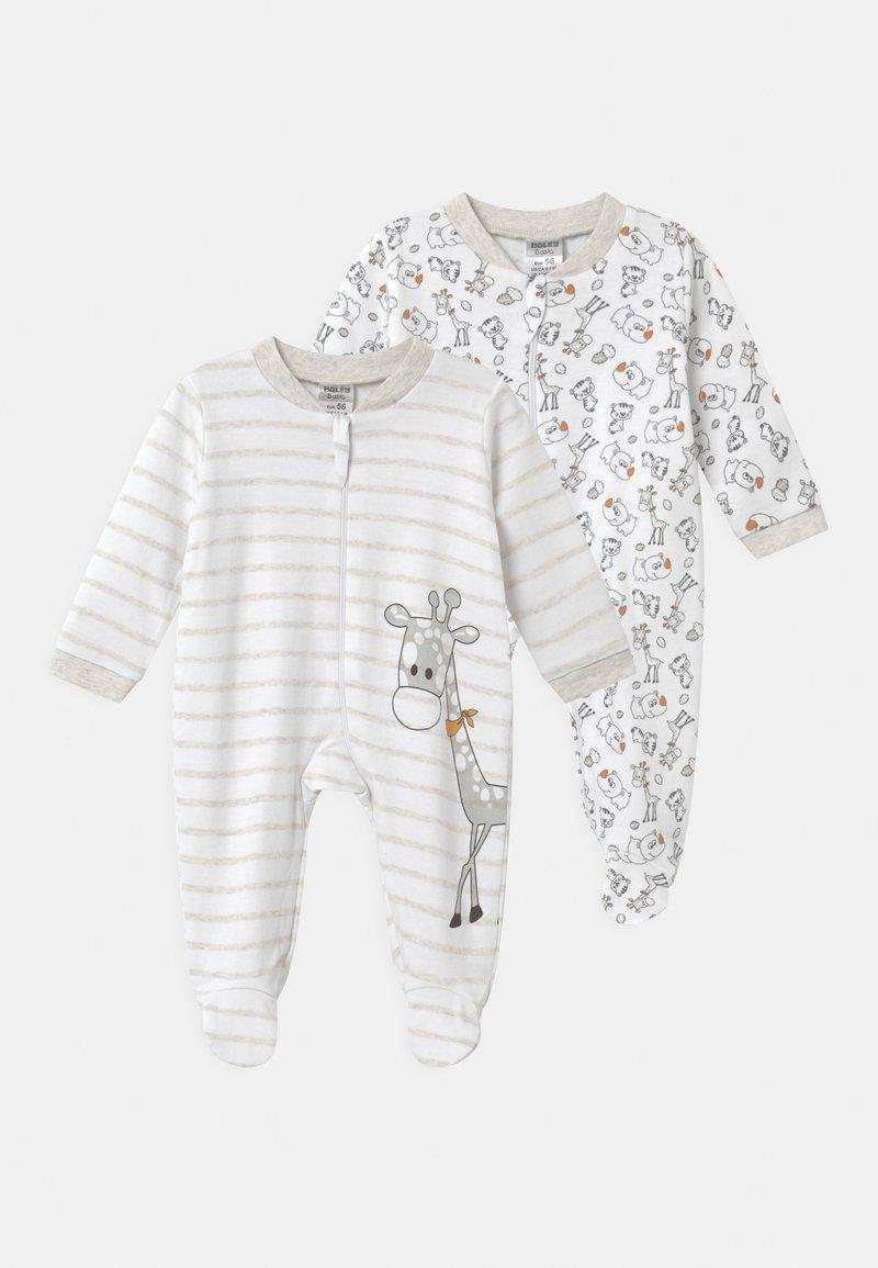 Jacky Baby - 2 PACK UNISEX - Pyžamo - white/beige