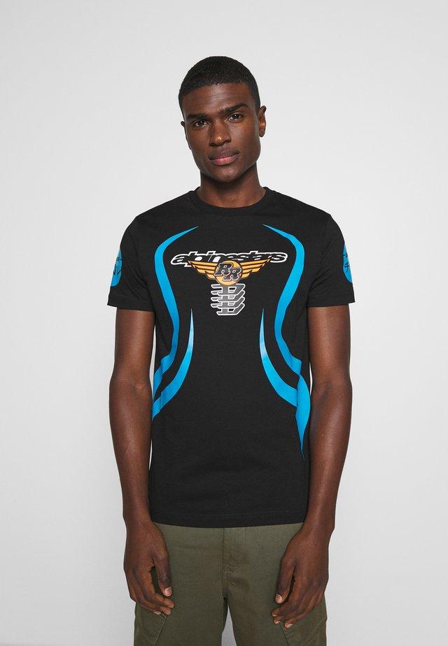 ASTARS DIEGOS - T-shirt con stampa - black