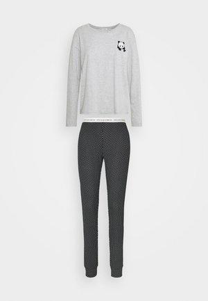 TROUSERS SET - Pyjamas - black/grey