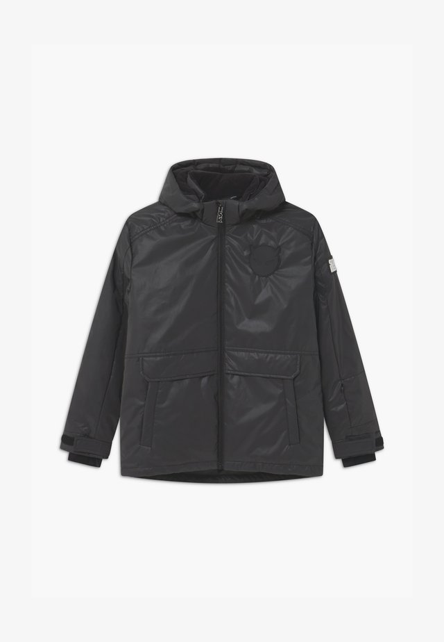 TECHNICAL REFLECTIVE UNISEX - Snowboard jacket - black reflective