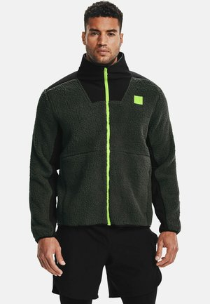 LEGACY SHERPA SWACKET - Fleecejas - baroque green
