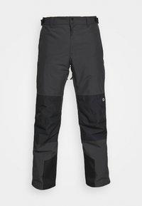 BOX PANT - Snow pants - antracithe