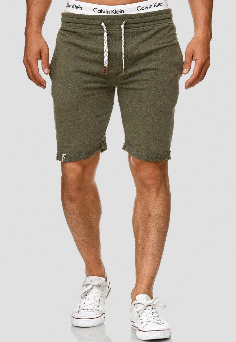INDICODE JEANS - ALDRICH - Shorts - green