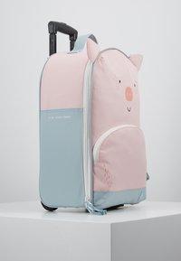 Lässig - ABOUT FRIENDS BO PIG - Wheeled suitcase - pink - 4