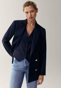 Massimo Dutti - Blazer - dark blue - 3