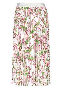 Gerry Weber - MIT FLORALEM - A-line skirt - weiß azalea palm druck - 4