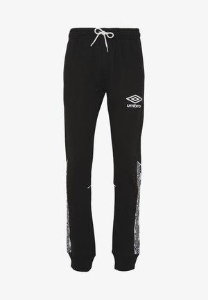 TAPED JOGGER - Pantaloni sportivi - black