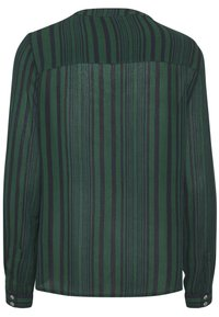 Kaffe - KANORA - Button-down blouse - dark green stripe print - 4