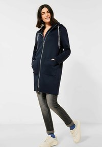 Cecil - Zip-up hoodie - deep blue - 1