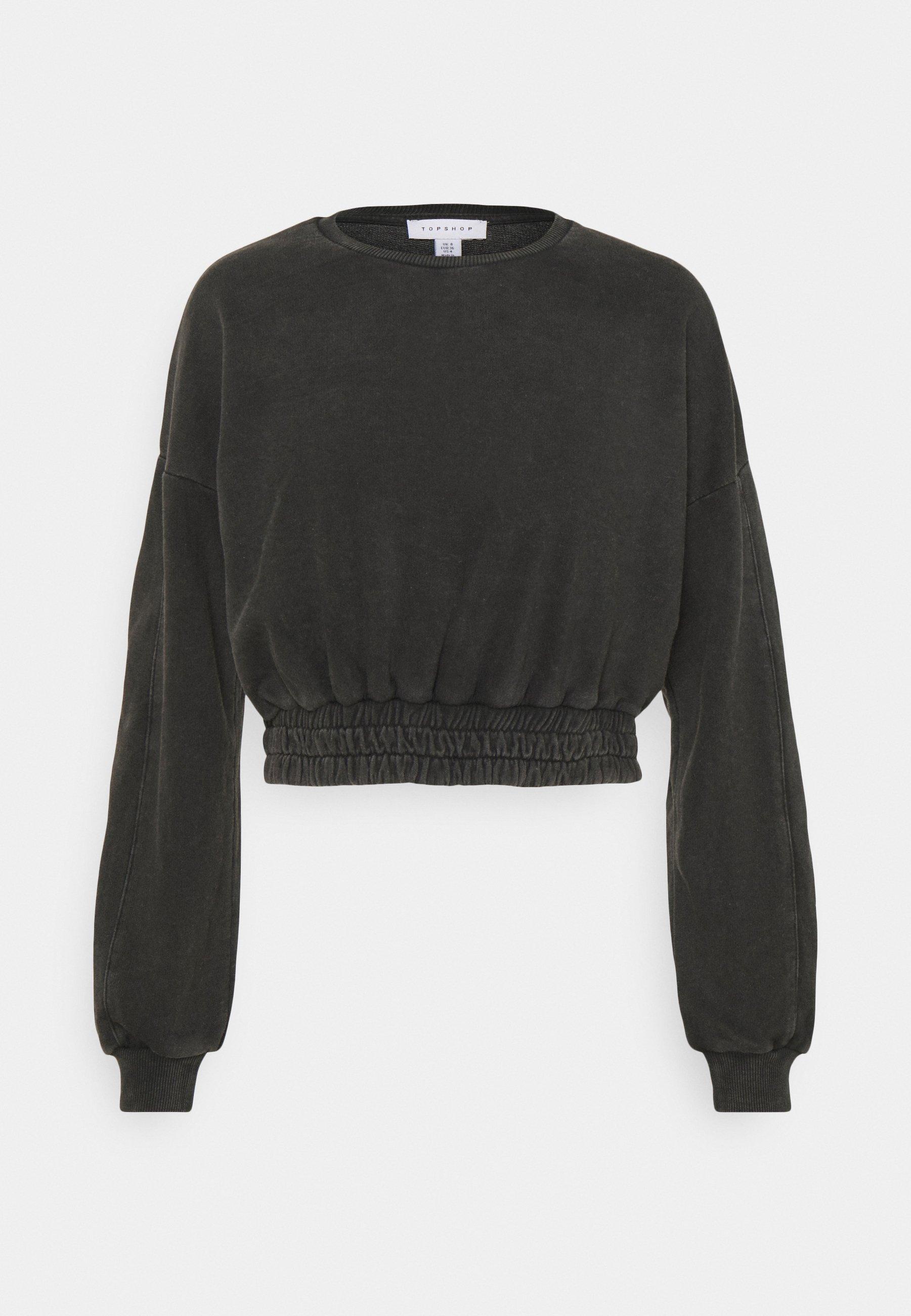 Women ACID WASH ELASTIC  - Sweatshirt