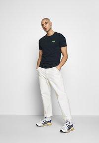 Superdry - VINTAGE CREW - Basic T-shirt - navy - 1