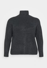 CAPSULE by Simply Be - FINE JUMPER - Maglione - black - 4