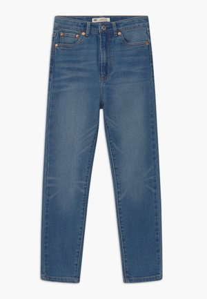 RIBCAGE ANKLE STRAIGHT - Straight leg jeans - light-blue denim