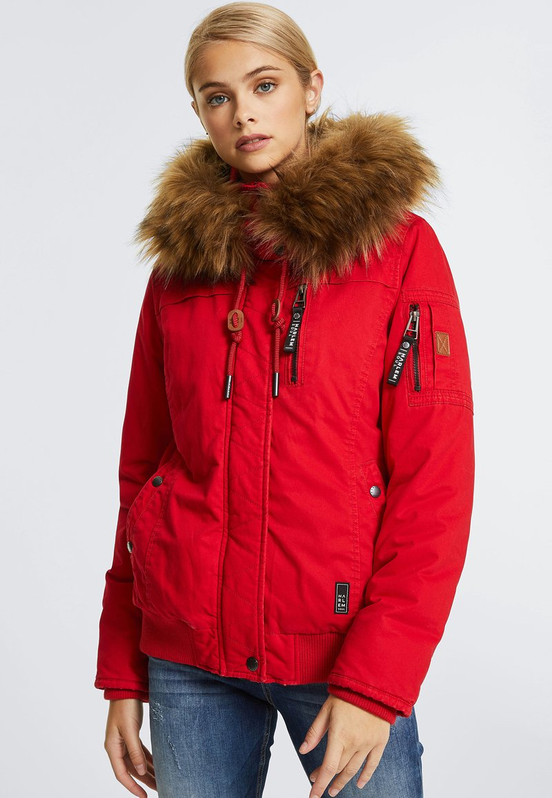 Harlem Soul - GI-GI  - Winter jacket - red