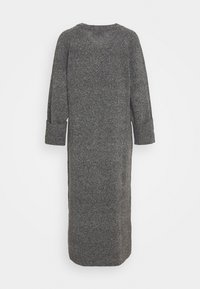 DESIGNERS REMIX - SILVIA SLIT DRESS - Jumper dress - dark grey melange - 1
