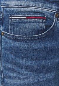 Tommy Jeans - SCANTON SLIM - Džíny Slim Fit - dynamic jacob mid blue stretch - 6