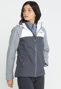 The North Face - STRATOS JACKET - Hardshell jacket - vanadis grey - 0