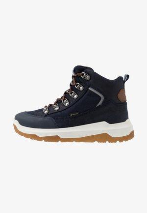 SPACE - Šněrovací kotníkové boty - blau/braun