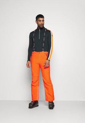 MAN PANT - Spodnie narciarskie - orange fluo